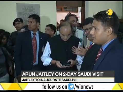 India's Finance Minister in Saudi