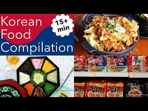 Best Korean Food Korean Cuisine Compilation Vlog 2016 | Seinustar