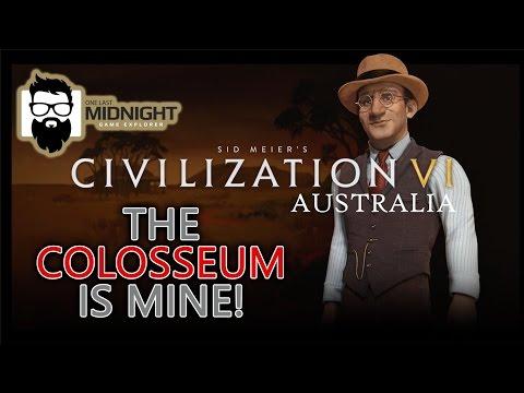 Civilization VI Gameplay - Australia - THE SANDS WILL RUN RED #5 - Lets Play Civilization VI