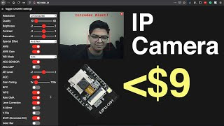 IP CAMERA & FACE DETECTION…