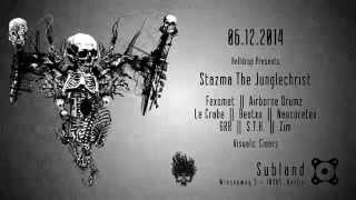 Video Flyer - Helldrop Presents Stazma The Junglechrist