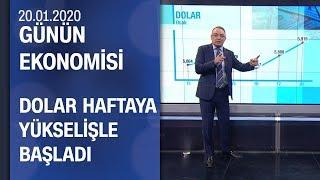 Piyasalarda son durum - Günün Ekonomisi 20.01.2020 Pazartesi