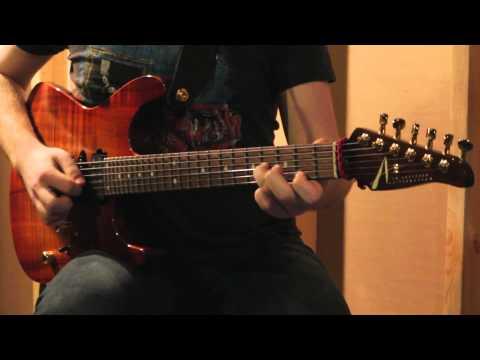 Sean Ashe - Tom Anderson Guitarworks 'Angel' Model - Demo
