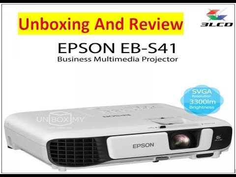 epson eb s41 projector unboxing and review youtube. Black Bedroom Furniture Sets. Home Design Ideas