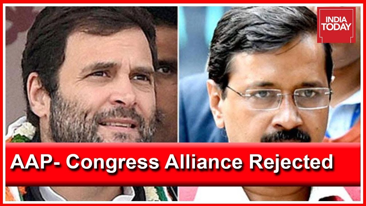 Arvind Kejriwal Declares That Rahul Gandhi Rejected Alliance With AAP