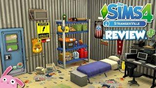 🌵 REVIEW del MODO CONSTRUIR 🌵 Los Sims 4 STRANGERVILLE | Pack de Contenido