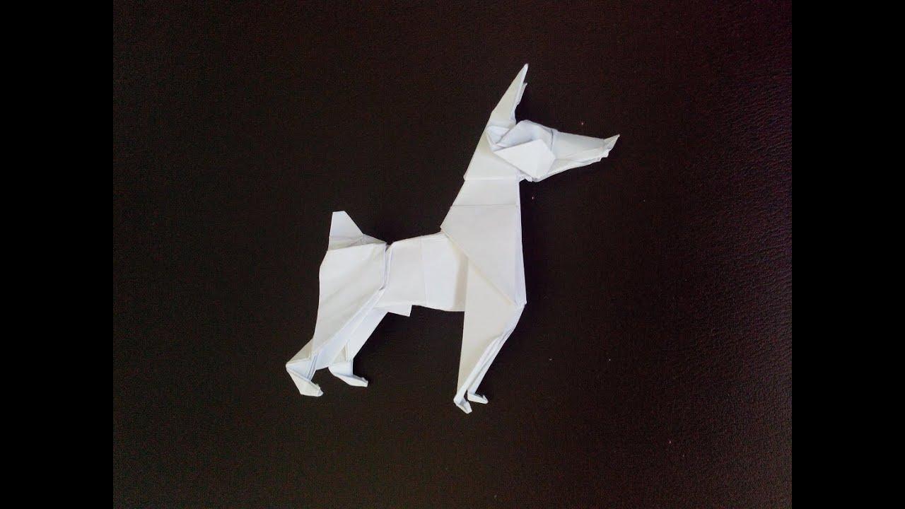 Видео как сделать оригами кошку фото 965