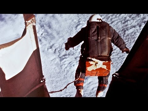 The First Space Jump | U.S. Air Force
