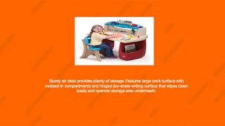 Childrens Activity Desk - kid review of the great creations art center