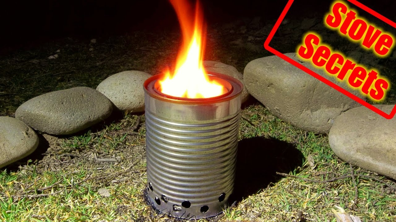 - How To Make A Wood Gas Stove - Compact & Efficient! - YouTube