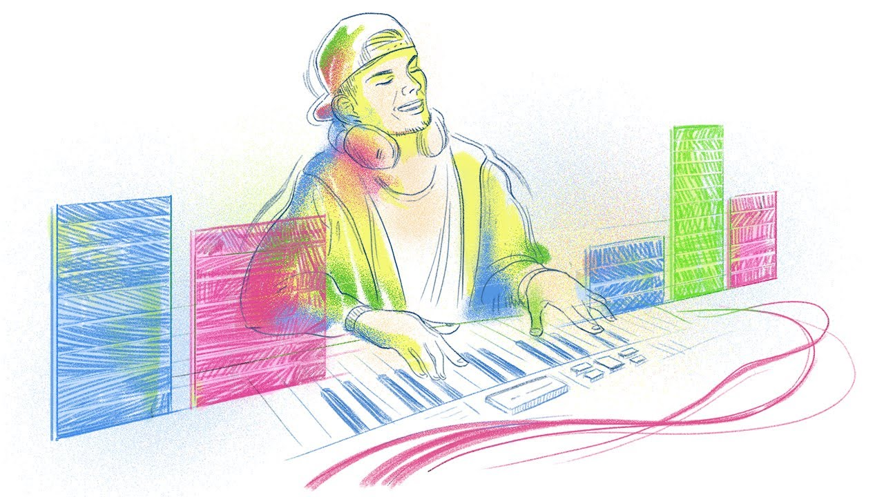 Paying a tribute to Avicii, the doodle way: Google celebrates Tim ...
