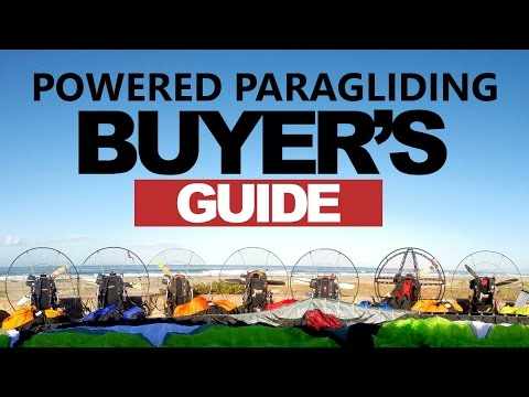 Paramotor & Powered Paragliding Buyer's Guide Part 1