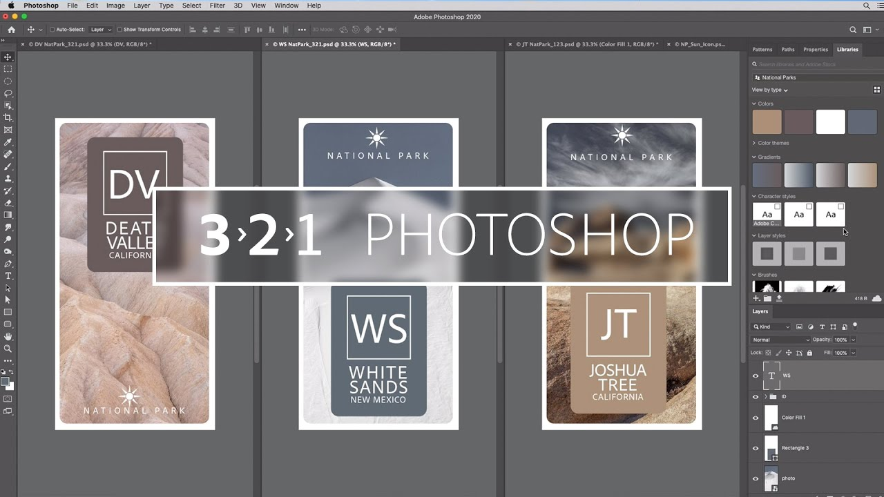 3 Reasons to Use Libraries in Photoshop