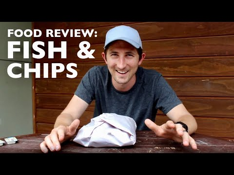 Food Review: Fish & Chips In Sumner, New Zealand