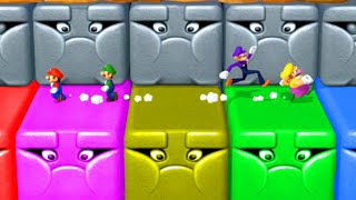 Mario Party 10 - Master Difficulty   Mario vs Luigi vs Wario vs Waluigi