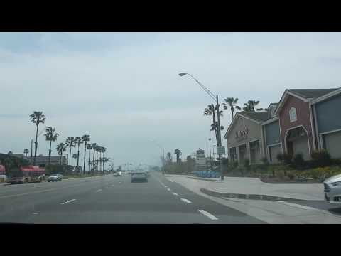 Pacific Coast Highway from Anaheim Ave (Long Beach) to 24th St (Sunset Beach)