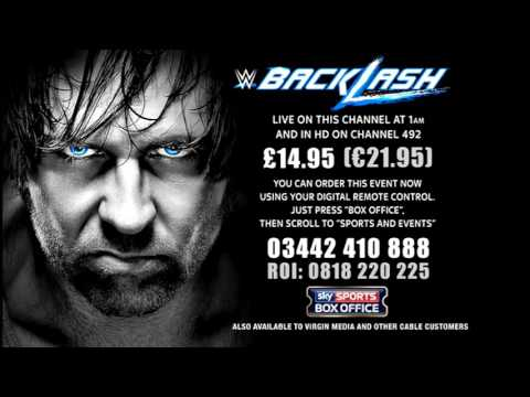 WWE | BACKLASH | SKY SPORTS BOX OFFICE | Order Screen | Pay Per View