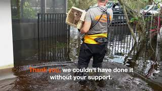 Hurricane Harvey & Irma: Thank You For Your Support