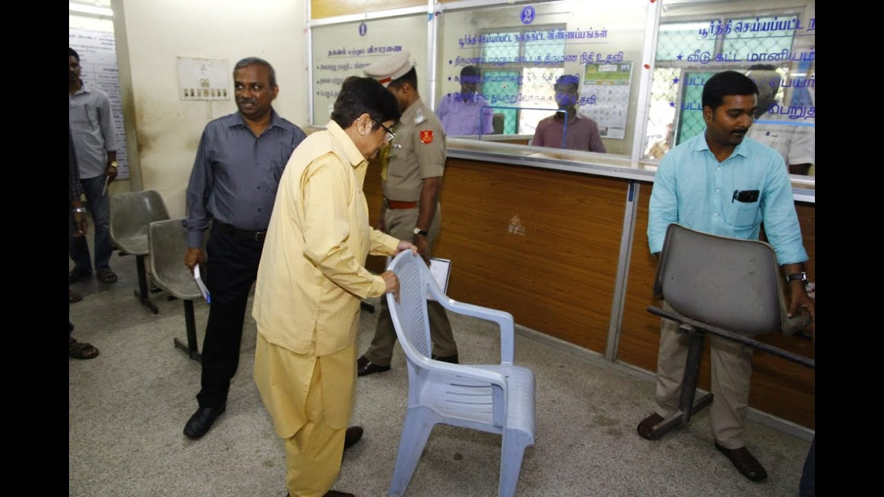 Dr  Kiran Bedi's visits Department for Welfare of Scheduled Castes