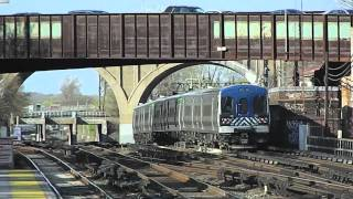 Metro-North Harlem Line Woodlawn Bronx, NY with Old School Music