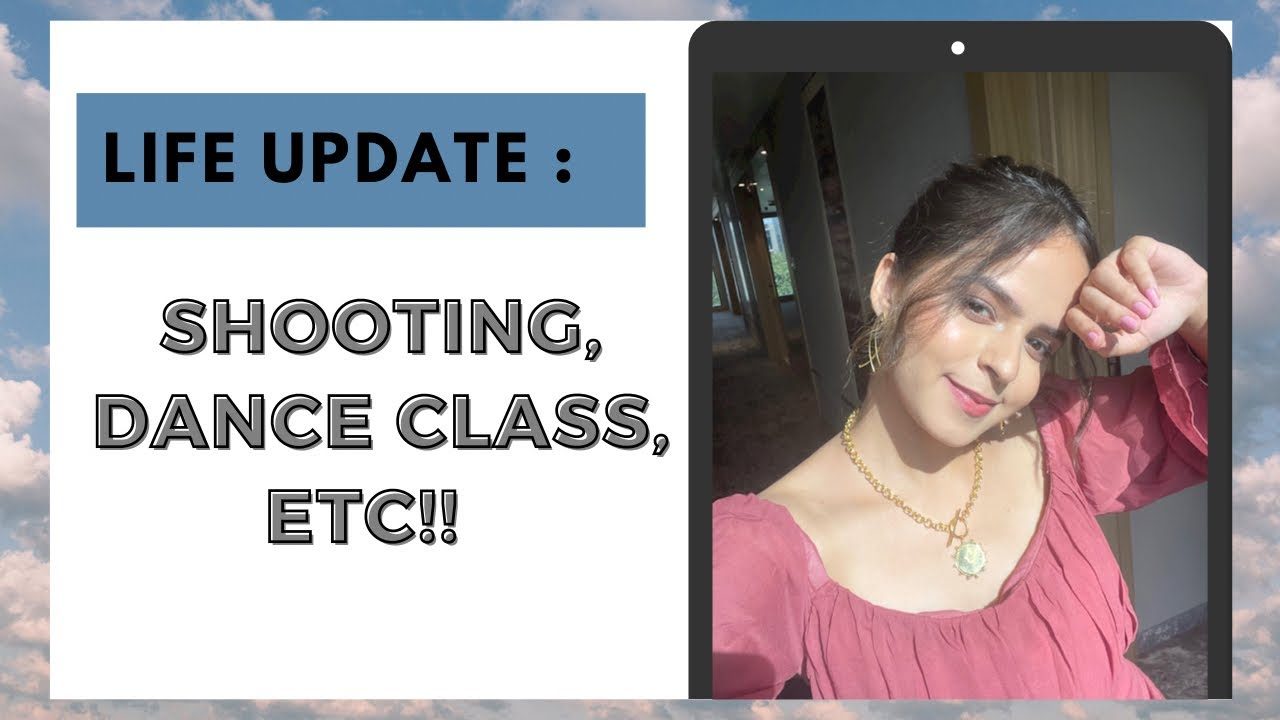 A Productive Day In My Life | Shoot, Dance class and more | Palak Sindhwani