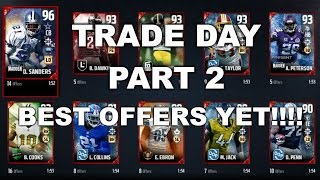 TRADE DAY PART 2 | BEST OFFERS YET!!! MUT 17