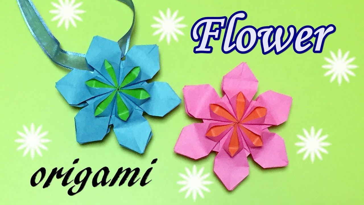 Amazing origami flower tutorial how to make a paper beautiful amazing origami flower tutorial how to make a paper beautiful flowers step by step diy pendant izmirmasajfo