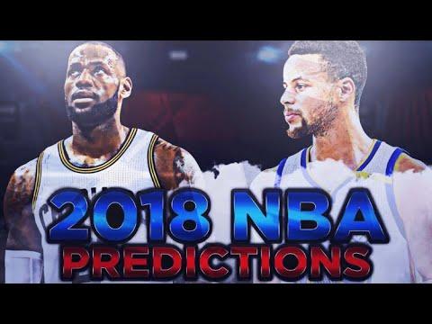 2018 NBA SEASON PREDICTIONS + AWARD PREDICTIONS