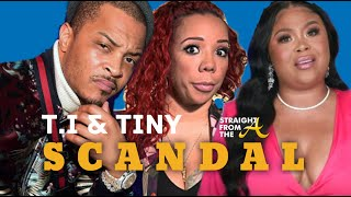 ATLien LIVE!!! TI & Tiny Scandal | Sabrina Peterson (Glam University)'s POLITICAL Agenda 👀