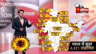 Covid-19: भारत मे 4421 हुए Corona पॉजिटिव, देखिए किस राज्य में कितने पॉजिटिव | 7 April 2020