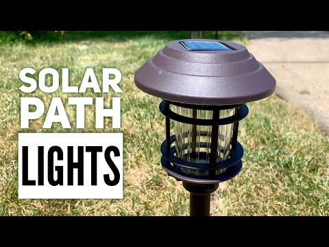 Stylish Bronze-Colored Cage Solar Pathway Lights Review