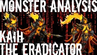 Monster Legends | Monster Analysis | Kaih The Eradicator | VIP Monster