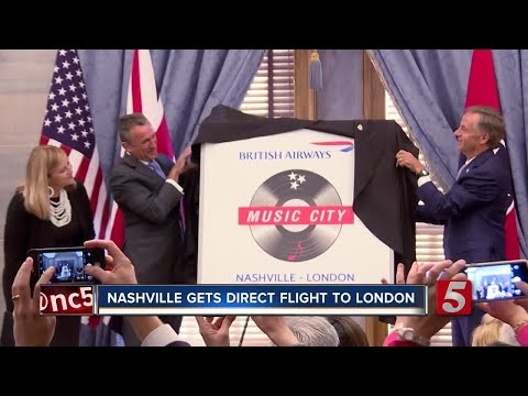 Nashville Getting Direct Flight To London In May