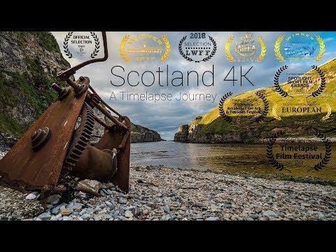 Scotland 4K - A Timelapse Journey