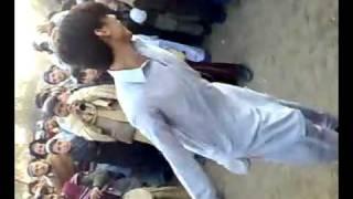 hazara university haripure campus  boy dance.flv
