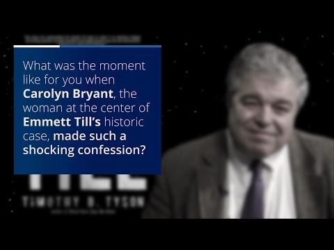 Duke's Tim Tyson Reflects on Confession in Emmett Till Case
