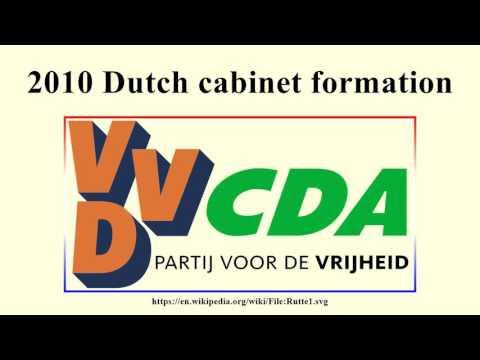 2010 Dutch cabinet formation