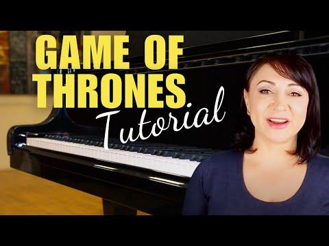 Game of Thrones Theme Piano Tutorial/Sheet Music