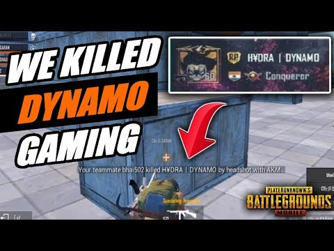 We Killed HYDRA DYNAMO | EMULATOR VS MOBILE PLAYER | Halloween Tournament  HIGHLIGHT | PUBG MOBILE