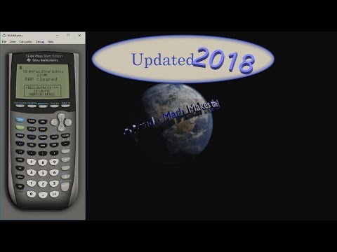 WabbitEmu TI 84 Plus Silver Edition Installation Tutorial [2018 Update Edition!]