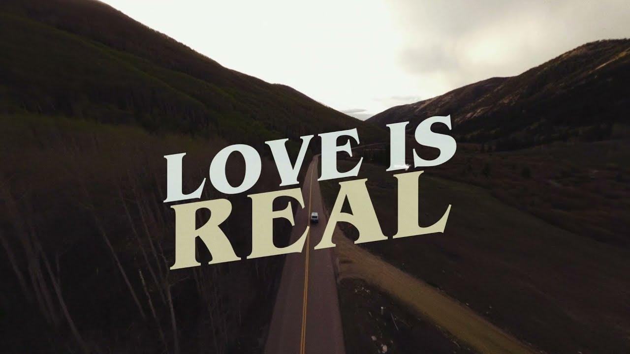 Morgan Evans - Love Is Real (Lyric Video)