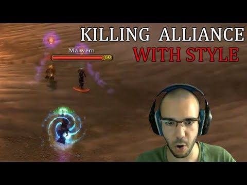 Killing Alliance With Style   Shadow Priest PvP WoW Classic