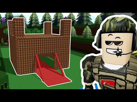 3000 BOMBA İle KALE YAPTIM! | Roblox Gemi Yapma Oyunu | Build A Boat