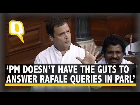 Rahul Gandhi On Rafale Debate in Lok Sabha: PM Didn't Answer on Rafale Deal in Staged Interview