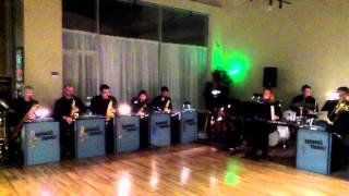 "Swings The Thing Big Band plays ""Thriller"" at Emerald City Ballroom Feb. 28th, 2015"