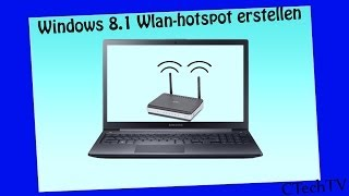 Wlan-Hotspot erstellen (Mit Windows 8/8.1 & Windows 10)[German][HD]