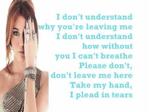 Miley Cyrus- Take Me Along Lyrics (HQ)