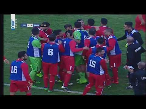 Football -  Lebanon v/s Hong Kong  - Hassan Maatouk's goal