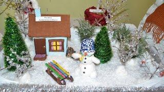 Снеговики своими руками из подручного материала Поделки на Новый год