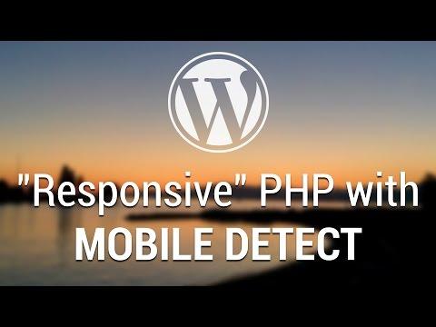 Part 64 - WordPress Theme Development - Responsive PHP with Mobile Detect - 동영상